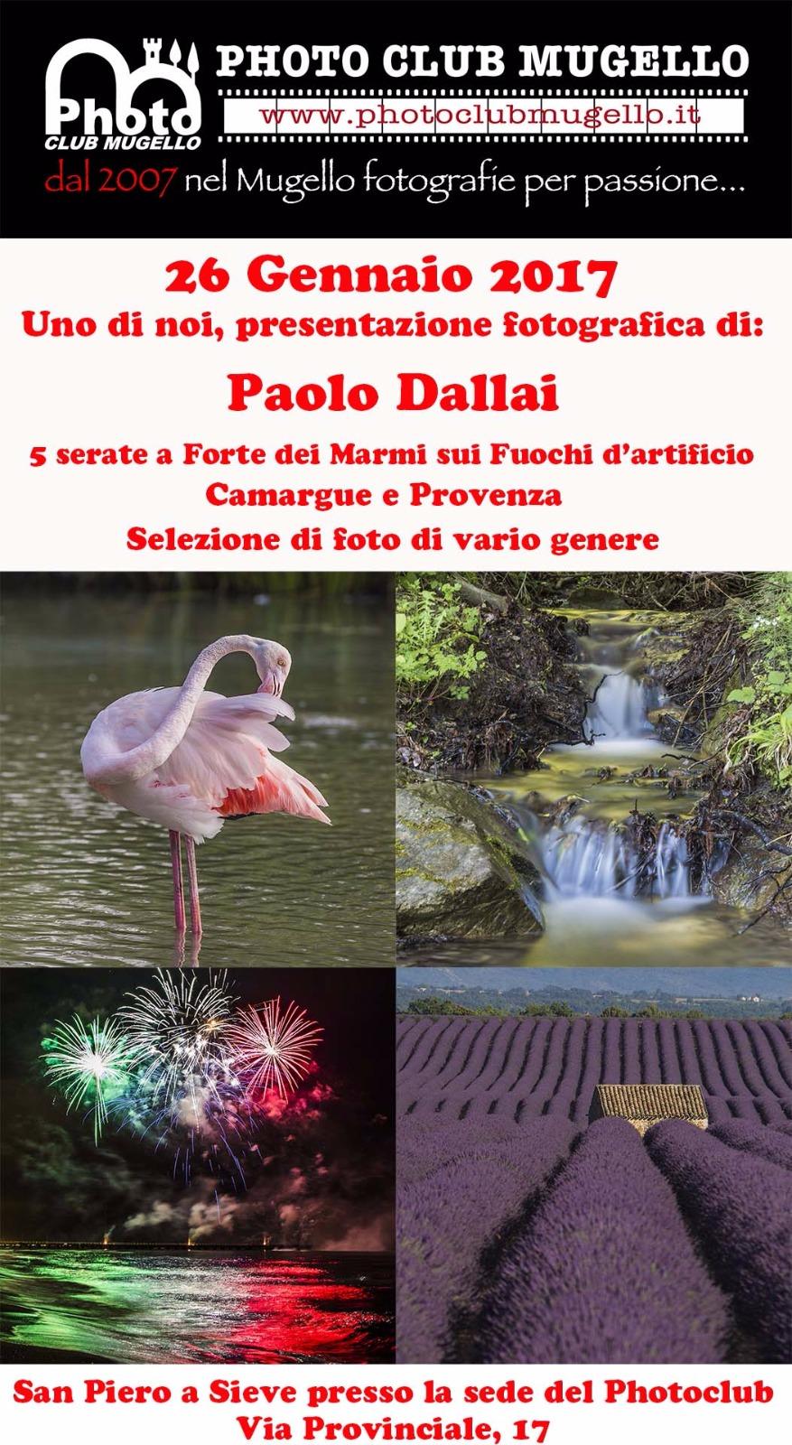 2017 Proiezione Paolo Dallai