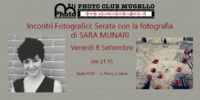 SARA MUNARI al Photo Club Mugello